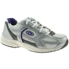 GIRLS HI-TEC R155 RUNNING TRAINERS SHOES SIZE UK 13 - 5 KIDS YOUTHS WHITE PURPLE