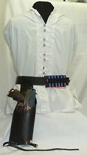 Faux Distressed Leather Nerf Gun Holster & Other Acc's For Steampunk Adventurers