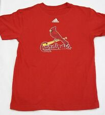 NEW Youth Boys Kids ADIDAS St Louis CARDINALS Vintage Style Baseball MLB Shirt