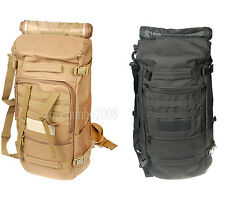 TACTICAL OUTDOOR MILITARY RUCKSACK BACKPACK CAMPING HIKING DAYPACK SHOULDER BAG