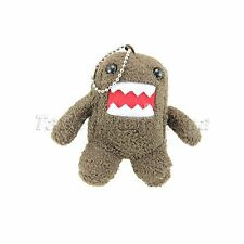 Lovely Domo Kun Plush Doll Toy Keychain Strap for Baby Cell Phone Pendant Gift
