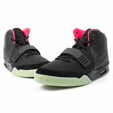 NIKE AIR YEEZY 2 NRG BLACK SOLAR RED 508214 006 KANYE WEST DEADSTOCK RARE