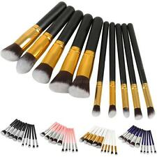 10Pcs Professional Cosmetic Makeup Brush Brushes Set Powder Eyeshadow BYWG