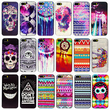Cute Fashion Painted Back Skin Case Cover Protector For Apple iPhone 5 5S