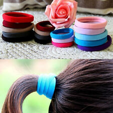 New High Quality 10pcsElastic Rope Ring Hairband Women Hair Band Ponytail Holder