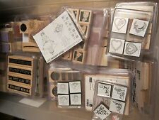 Stampin Up USED Wood-Mount Retired Stamp Sets *Multiple Listing*