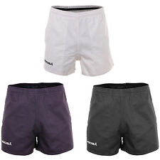 Kooga Murrayfield Rugby Drill Shorts Black, Navy or White100% Heavyweight Cotton