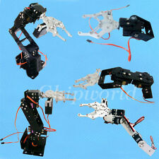 2/3/4/5/6 DOF Mechanical Arm Steering Gear Bracket Mechanical Claw Robotic NEW
