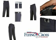 "FECHHEIMER FLYING CROSS 47280 MEN'S 75/25 POLY WOOL NAVY UNIFORM PANTS 44"" WAIST"