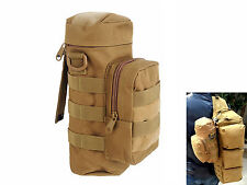 Outdoor Workout Military Tactical Travel Water Bottle Kettle Pouch Carry Bag