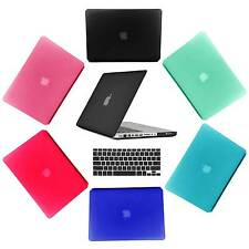 "Rubberized Hard Case Keyboard Cover For Mackbook Pro 13"" 15"" Retina 13"" 15"""