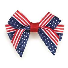 DOG GROOMING BOWS 4th of July Aria Americana Pet Cat Puppy Hair Bows Rubber Band