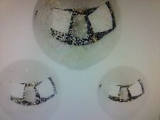 3-piece Lit Mercury Glass Spheres with Timer by Valerie  H196638 USED