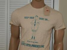 Levis Keep On T Shirt Beige NWT