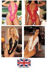 Womens Hot Sexy lingerie Sexy lace Nightwear  lady Teddy Naughty HOT Valentines