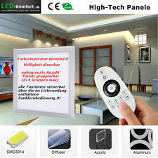 LED Panel Kelvin+Helligkeit dimmbar 2,4 GH FFB oder iPhone,Tablet Pc mit Wifi