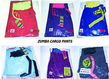 ZUMBA Pants Green Blue Pink White Purple All Sizes XS S M L Get $10 Off