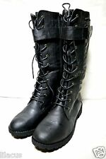 Carrini Mid-Shaft Combat Boots Multiple Size & Colors Available - new