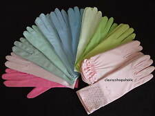 DENTS SATIN GLOVES ( Various Colours & styles Available ) One Size BNWT
