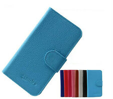 New PU Wallet Card Leather Cover Case Pouch for Alcatel One Touch Smart Phone