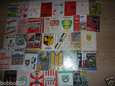 Non-League Programmes   Home Clubs ararting A -  Pick the one(s) you want