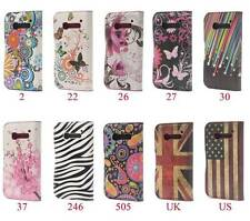 Fashion Style Leather Slot Card Stand Case Cover For Alcatel One Touch Pop C5