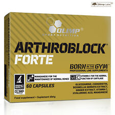 Arthroblock Forte 60-180 Caps Joint Support Health Glucosamine Hyaluronic Acid