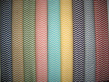 Chevrons Zig Zags 100% Cotton Quilt Fabric Cream 9 Colors Available BTY