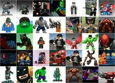 Custom & Lego Superheroes  Minifigures - Brand New - Marvel DC Guardians OF G