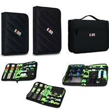 S M L Size Portable Organizer Bag Case for Hard Drive USB Flash Drive Cable Gift