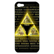 LEGEND OF ZELDA TRIFORCE GAME CUBE HARDSHELL CASE FOR APPLE iPHONE 4/4S/5/5S/5C