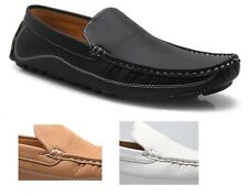 Men's Classic Driving Shoes Casual Moccasin Loafers Slip On Comfort Brixton New