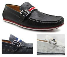 Men's Boat Shoes Casual Faux Leather Loafers Moccasin Comfort Deck Daye Brixton