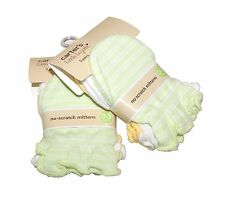Carter's 6 Pairs Newborn Baby/infant No Scratch Mittens Gloves