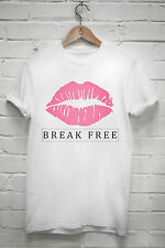 Break free T shirt Ariana grande zedd music kiss tumblr tshirt Z089