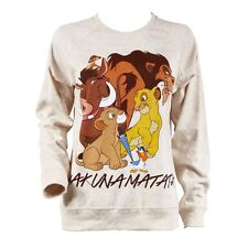 Womens Official Disney The Lion King Hakuna Matata Reversible Sweater NEW Simba