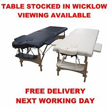 Portable Wooden Massage Table Couch Therapy Beauty New