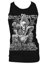 Avenged Sevenfold A7X Hail to the King M. Shadows Retro Graphic Tank Top Singlet