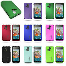 For Kyocera Hydro Vibe - Hard Snap On Hard Plastic Shell Phone Cover Case