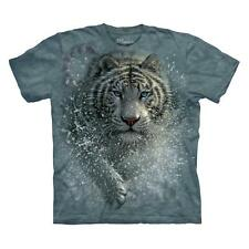 """WHITE TIGER """"WET & WILD"""" CHILD T-SHIRT THE MOUNTAIN ---IN STOCK!!"""
