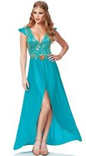 Margaery Tyrell Daenerys Targaryen DRAGON Game of Thrones Goddess Costume Blue