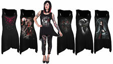 SPIRAL DIRECT GothBotm Vest Dress/Rock/Metal/Roses/Angel/Women/Anne Stockes/Top