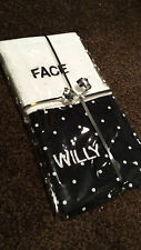 Adult Novelty Face / Willy Mens Facecloth Gift Set Stag Groom Christmas Idea