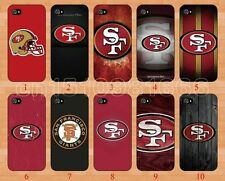 NFL San Francisco 49ers Case SF Apple iPhone 4 4S 5 5S Design Hard Cover Giants
