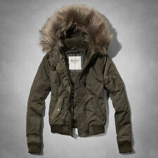 Abercrombie & Fitch Vanessa Bomber Jacket New With Tags, Color: Olive