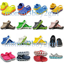 Unisex Croc Duet Sport Slippers Summer Shoes Sandals Size UK 4 5 6 7 8 9 10