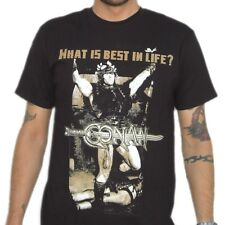 What Is Best In Life Quote Conan The Barbarian T-Shirt Arnold Schwarzenegger New