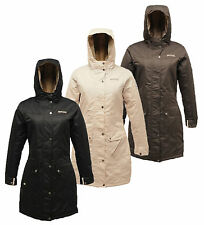 RRP £80 REGATTA LADIES THERMO GUARD INSULATED WATERPROOF BREATHABLE JACKET Rnsky