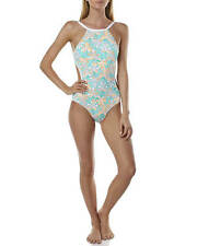 New Womens Piha Biarritz High Neck Cut Out One Piece Ladies Bikini Swimwear