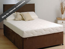 Lux orthopaedic 5cm MEMORY FOAM + POCKET SPRUNG MATTRESS British & IKEA  EU size